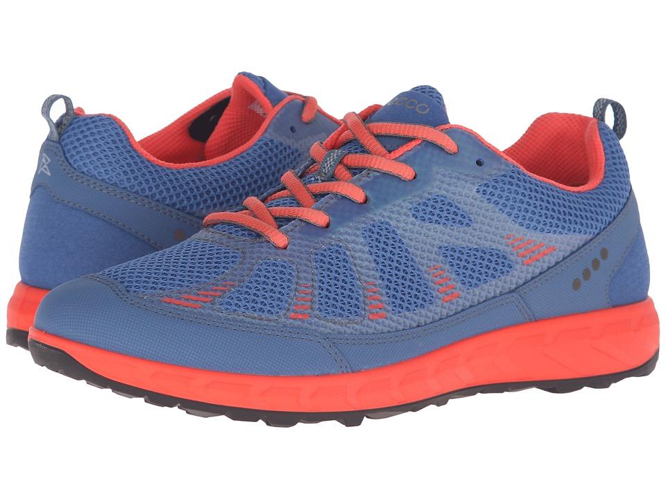 ECCO Sport - Terratrail (Cobalt/Cobalt/Coral Blush) Women's Shoes