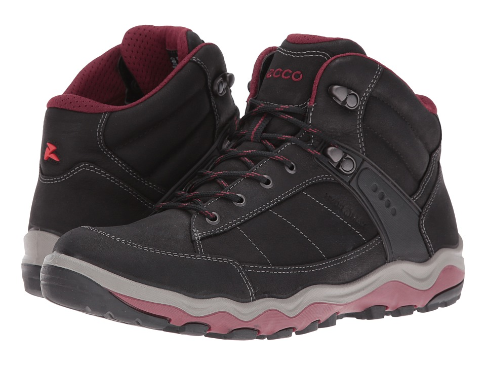 ECCO Sport - HYDROMAX Ulterra (Black/Morillo) Women's Walking Shoes