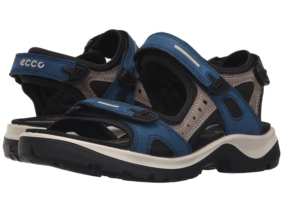 ECCO Sport - Yucatan Sandal (Poseidon/Warm Grey/Black) Women's Sandals