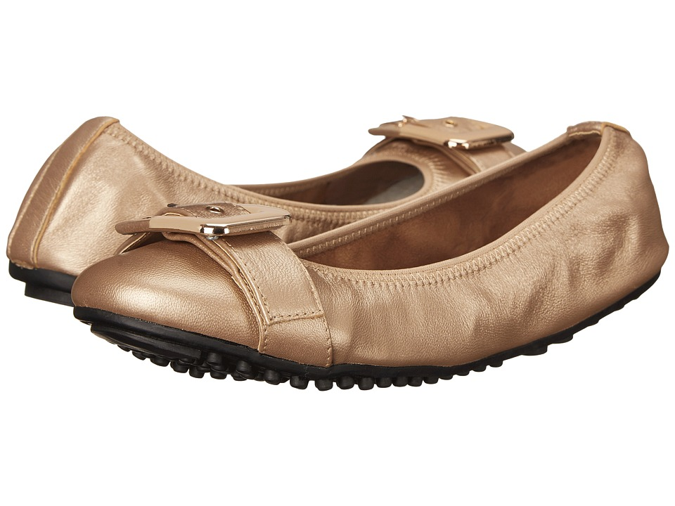Bella-Vita - Twirl (Rose Gold Leather) Women's Flat Shoes