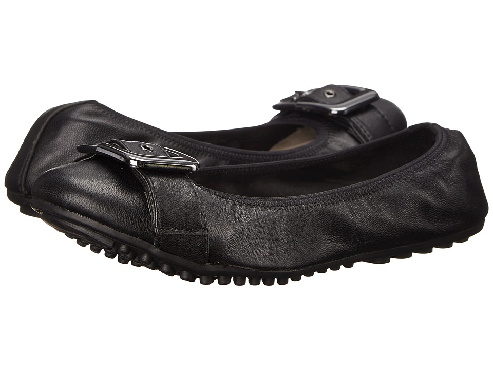 Bella-Vita - Twirl (Black Leather) Women