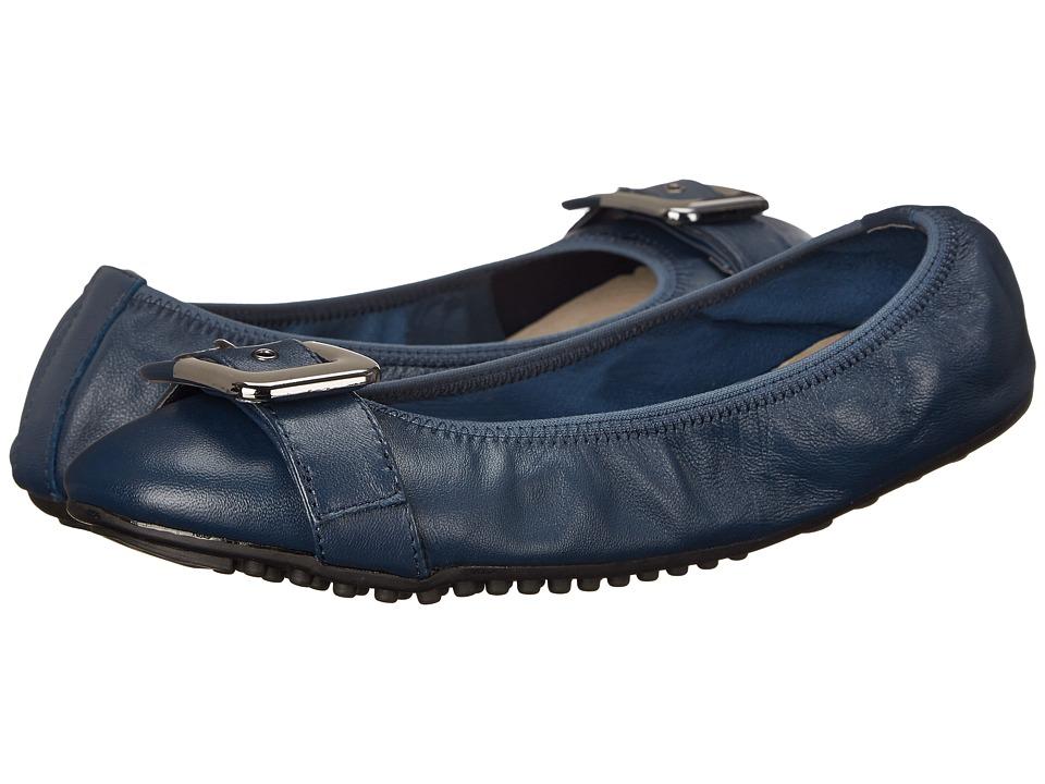Bella-Vita Twirl (Navy Leather) Women