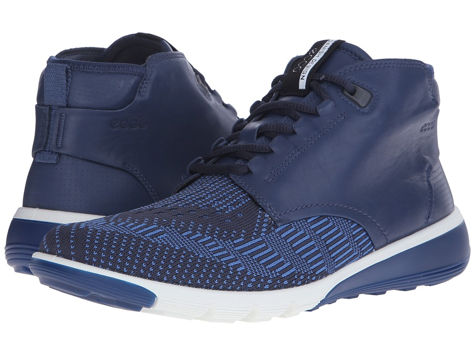 ECCO Sport - Intrinsic 2 Boot (True Navy/Marine Cobalt) Men's Lace-up Boots