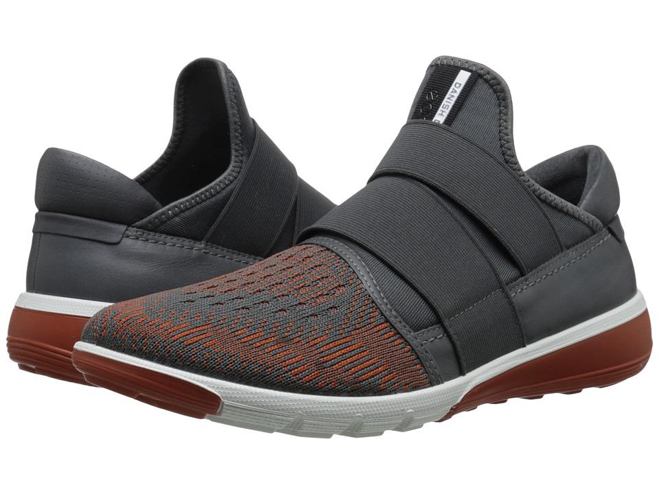 ECCO Sport - Intrinsic 2 Slip-On (Dark Shadow/Dark Shadow Picante/Dark Shadow) Men's Slip on Shoes