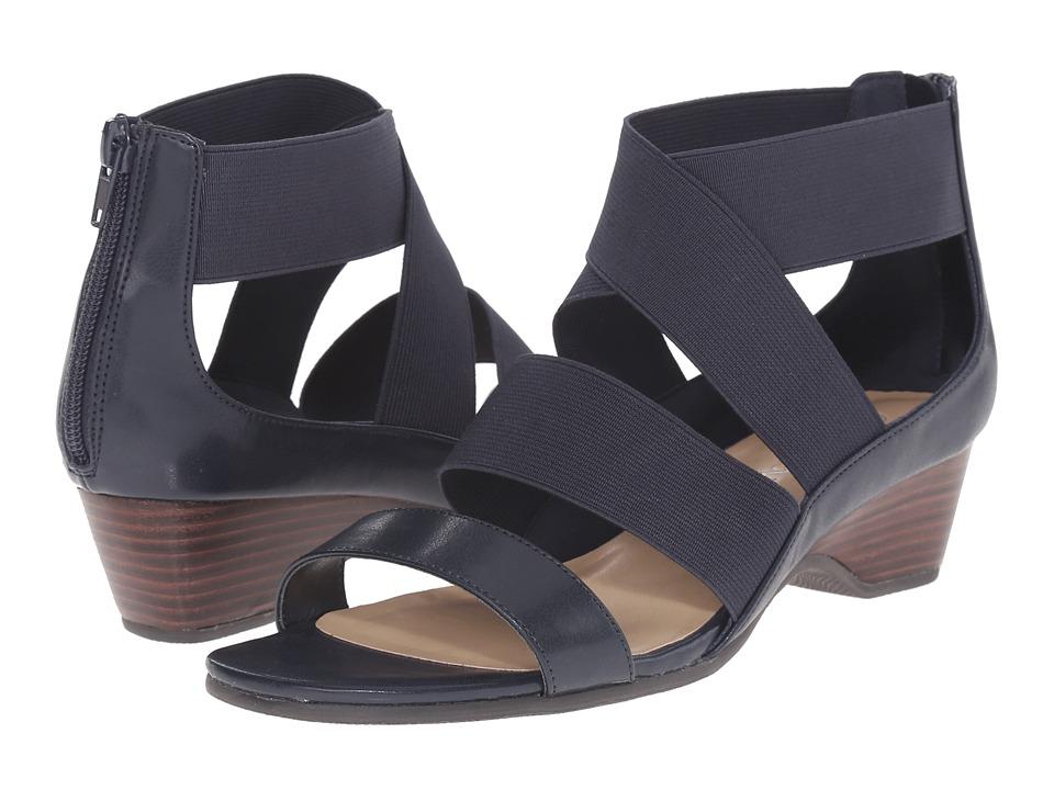 Bella-Vita - Paloma II (Navy) Women's Sandals