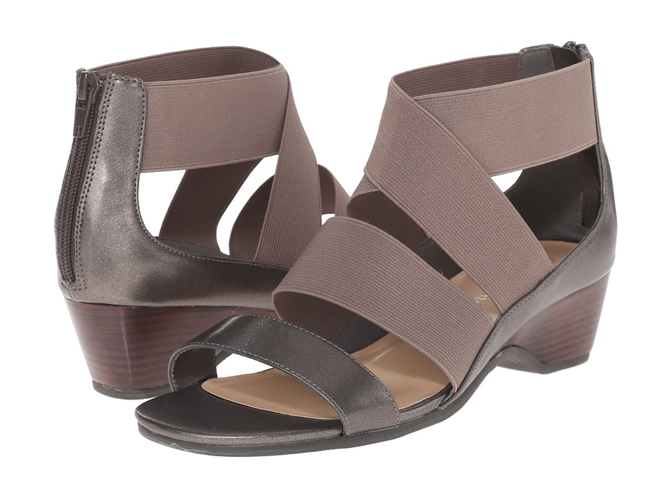 Bella-Vita - Paloma II (Pewter) Women's Sandals