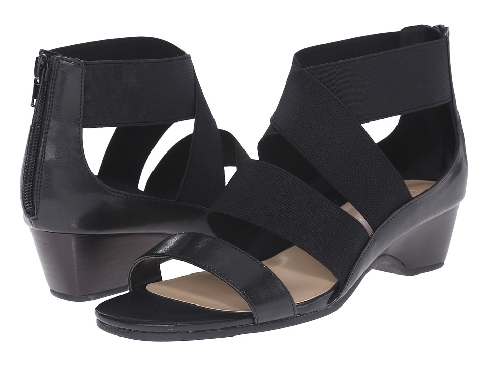 Bella-Vita - Paloma II (Black) Women's Sandals