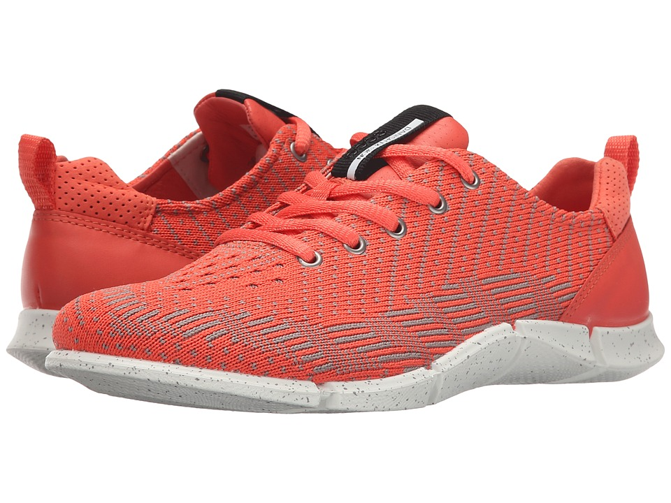 ECCO Sport - Intrinsic Karma Tie (Coral Blush/Coral Blush/Moon) Women's Lace up casual Shoes
