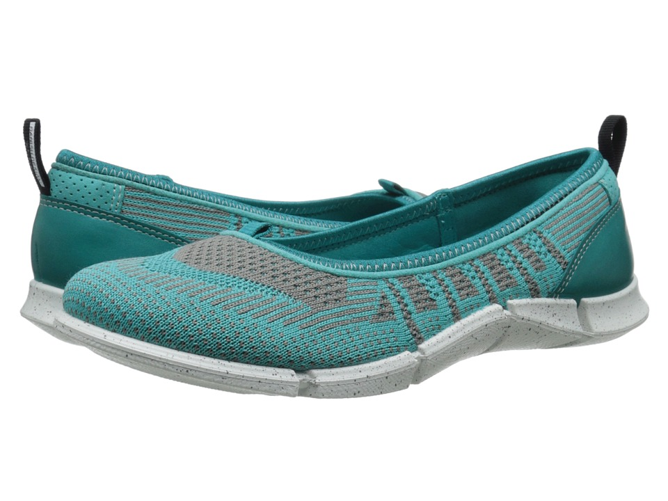 ECCO Sport Intrinsic Karma Flat (Fanfare/Turquoise/Turquoise) Women