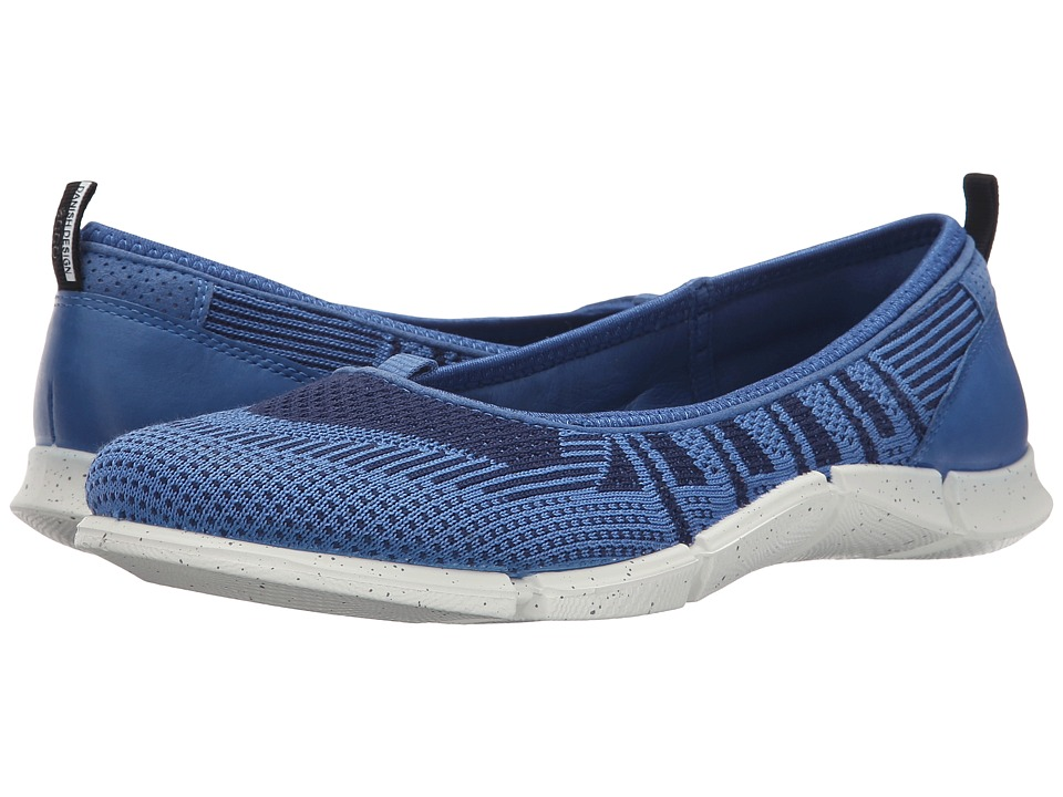 ECCO Sport - Intrinsic Karma Flat (Cobalt/Medieval/Cobalt) Women's Flat Shoes