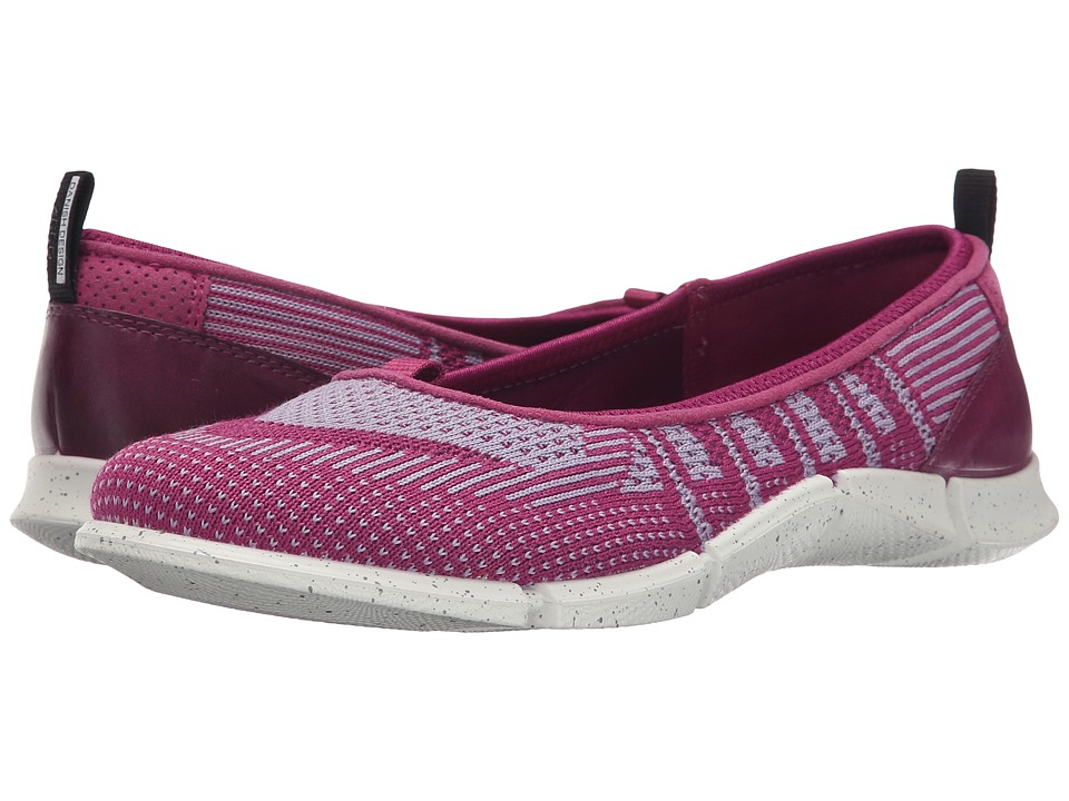 ECCO Sport - Intrinsic Karma Flat (Fuchsia/Purple/Fuchsia) Women's Flat Shoes