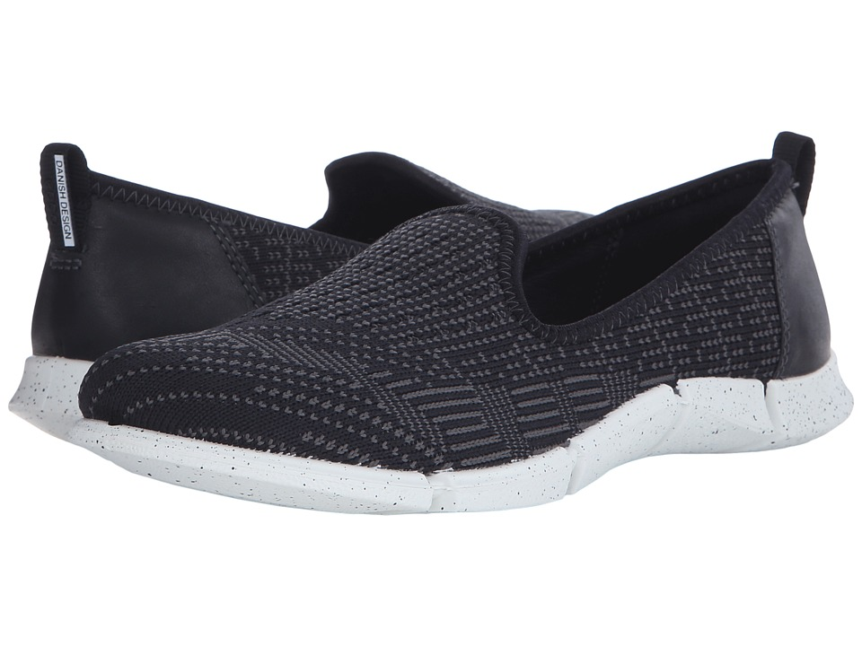 ECCO Sport - Intrinsic Karma Slip-On (Black/Black/Dark Shadow) Women's Slip on Shoes