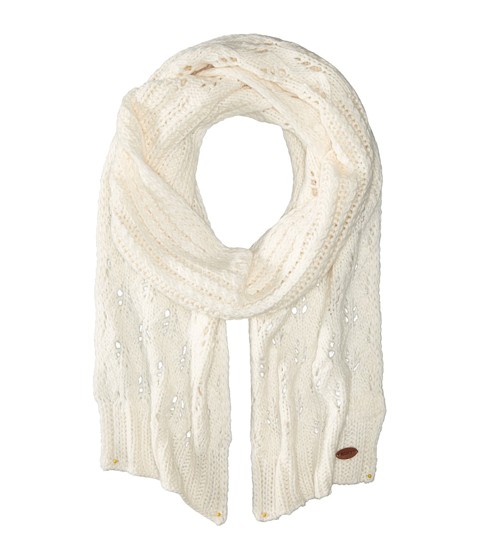 Roxy - Let Me Ride Knit Scarf (Sea Spray) Scarves