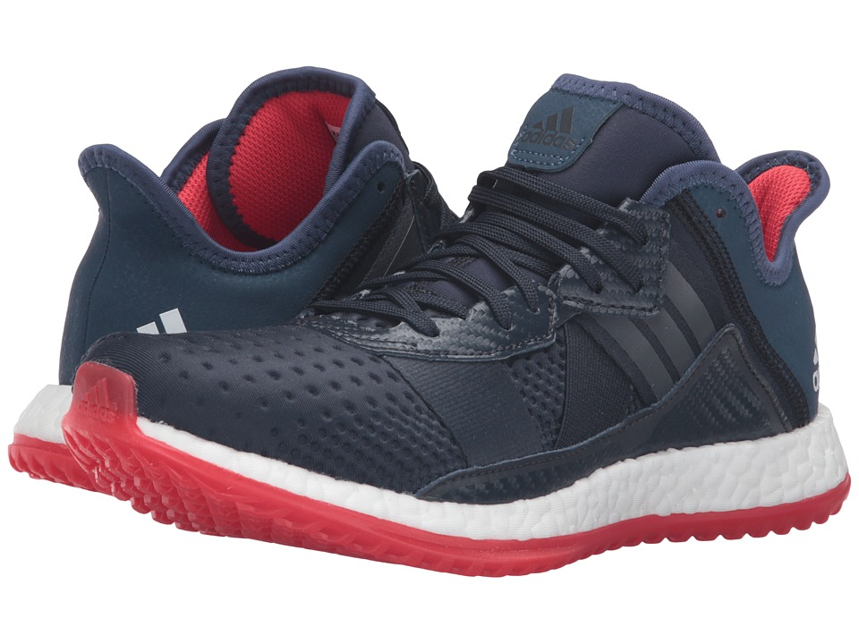 adidas - Pureboost ZG Trainer (Navy/White/Vivid Red) Men's Cross Training Shoes