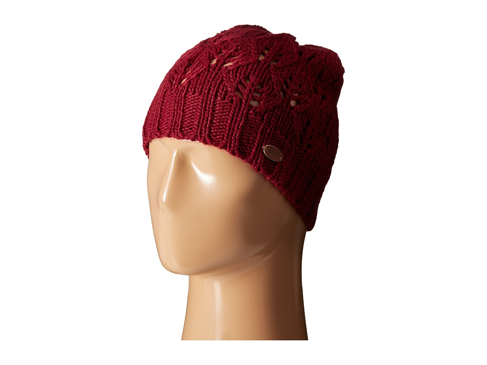 Roxy - Major Break Beanie (Burgundy) Beanies