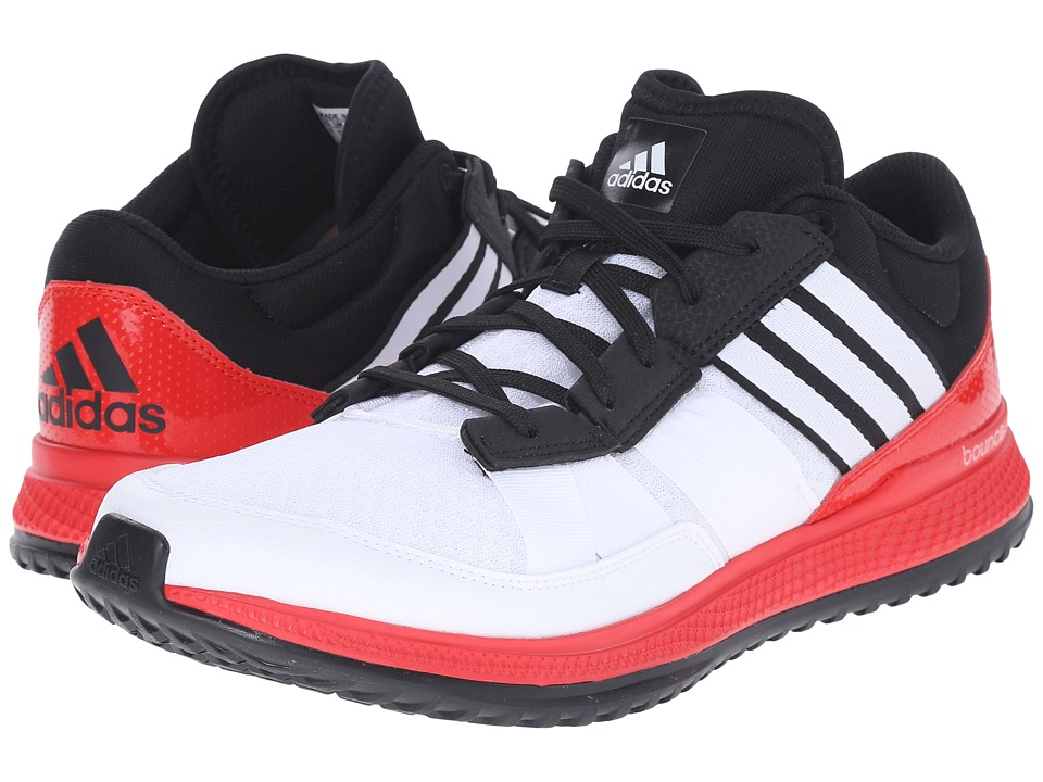 adidas - ZG Bounce Trainer (White/Black/Vivid Red) Men's Cross Training Shoes
