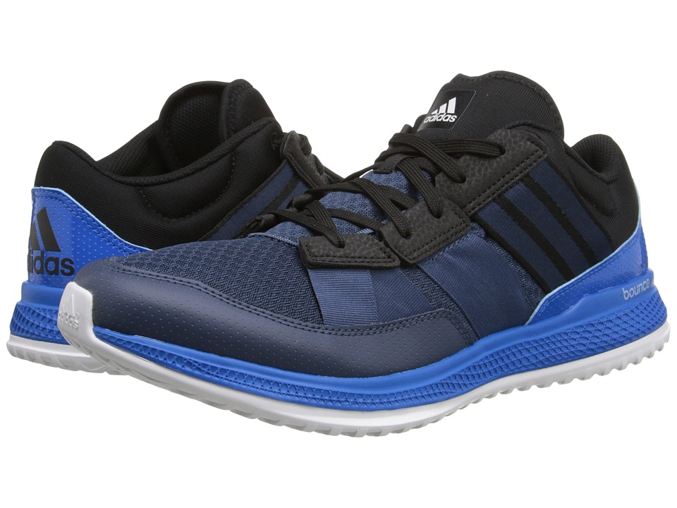 adidas - ZG Bounce Trainer (Blue/Blue/Shock Blue) Men's Cross Training Shoes