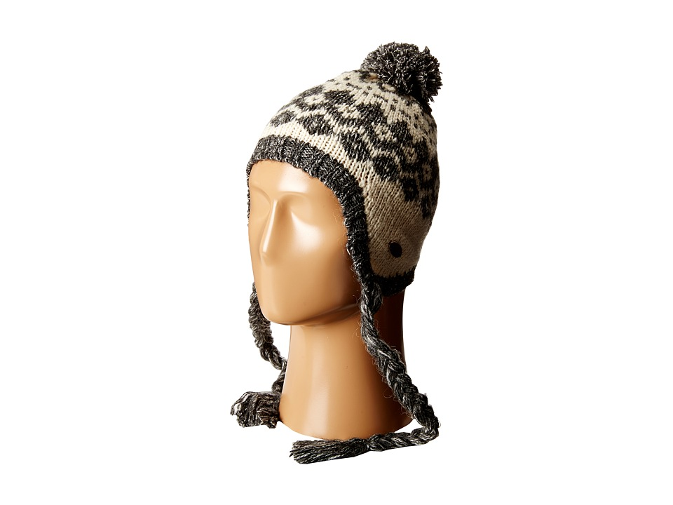 Roxy - Down Rail Knit Beanie (Charcoal Heather) Beanies