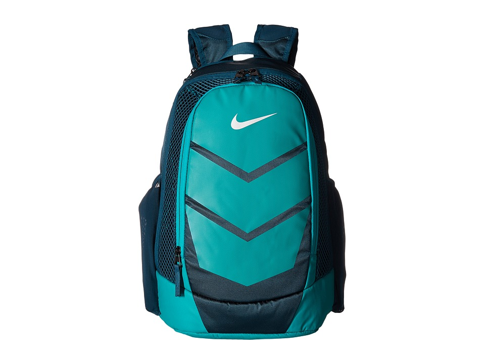 Nike - Vapor Speed Backpack (Midnight Turquoise/Rio Teal/Metallic Silver) Backpack Bags
