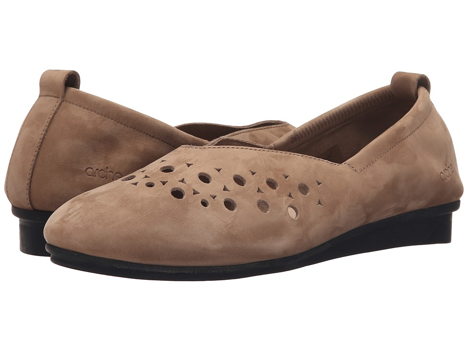Arche - Nityka (Sand) Women's Flat Shoes