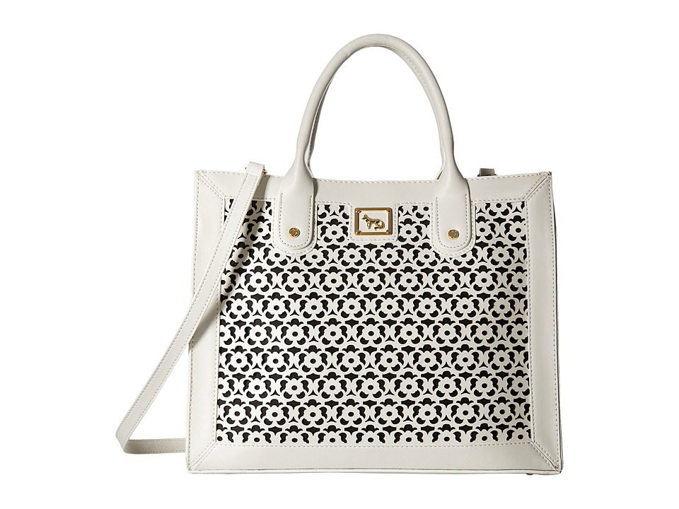 Emma Fox - Forsyth Tote (White) Tote Handbags