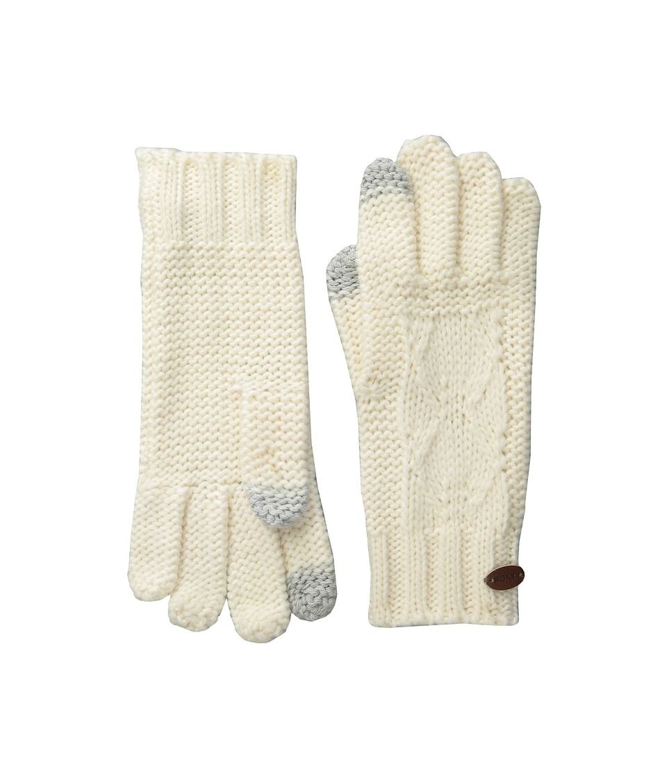 Roxy - In Charge Knit Gloves (Sea Spray) Extreme Cold Weather Gloves