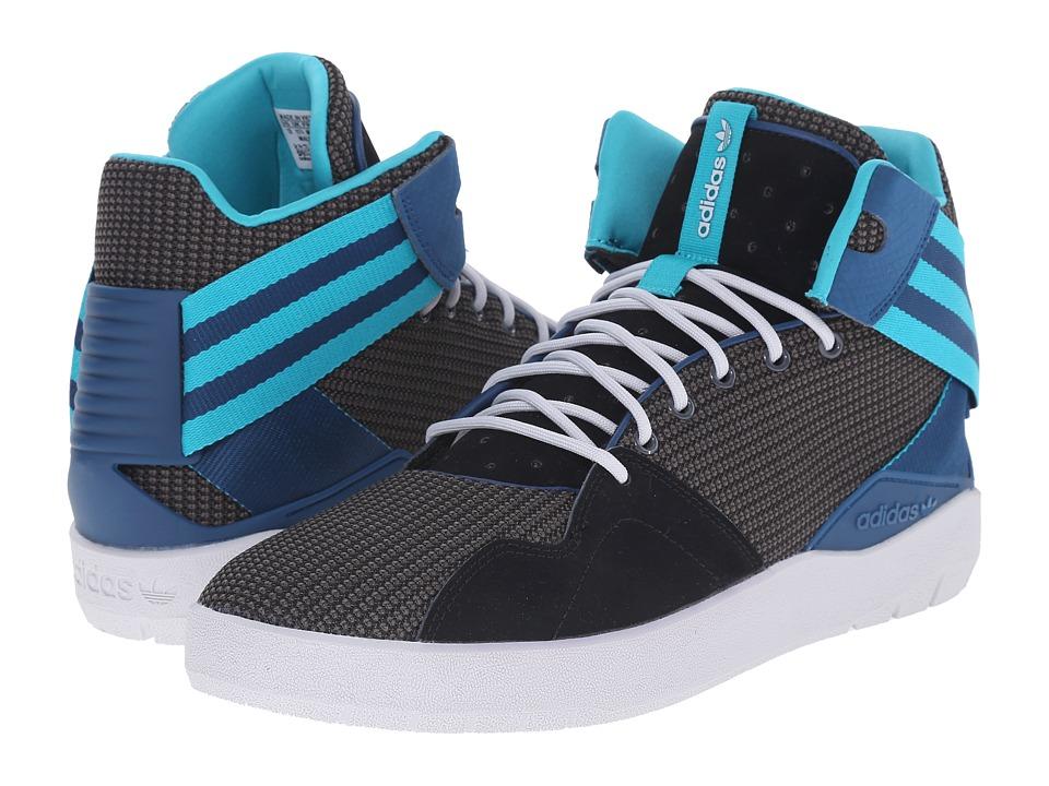 adidas Originals - Crestwood Mid (Black/Shock Green/Dark Grey Heather Solid Grey) Men's Shoes