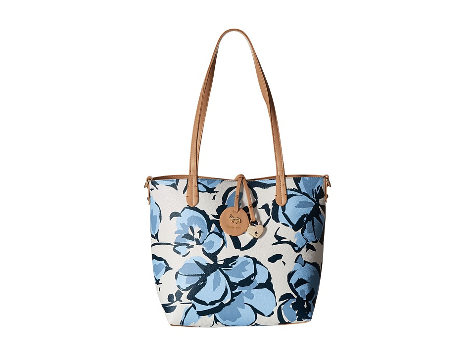 Emma Fox - Magnolia Bag-in-Bag (Blue Floral) Bags