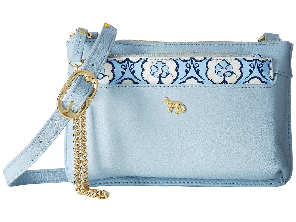 Emma Fox - Savannah Crossbody (Baby Blue) Cross Body Handbags