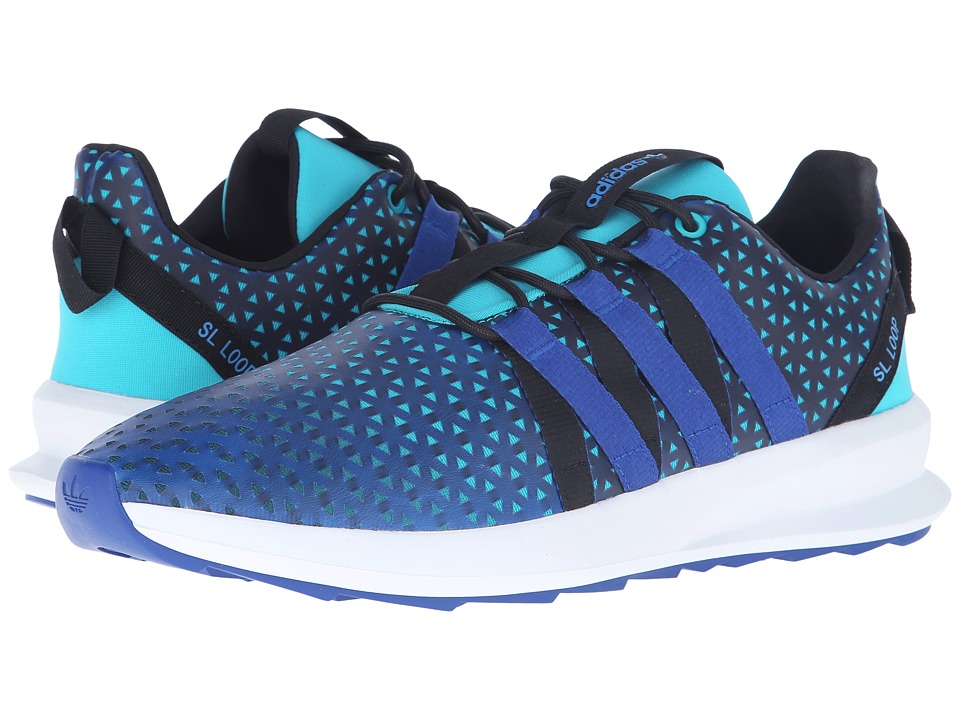 adidas Originals - SL Loop CT (Shock Green/Collegiate Royal/Crystal White) Men's Running Shoes