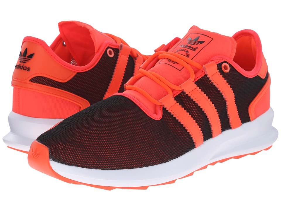 adidas Originals - SL Rise Premium (Black/Solar Red/White) Men's Running Shoes