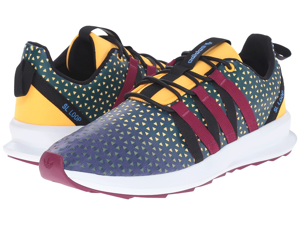 adidas Originals - SL Loop CT (Shadow Blue/Magenta/Crystal White) Men's Running Shoes