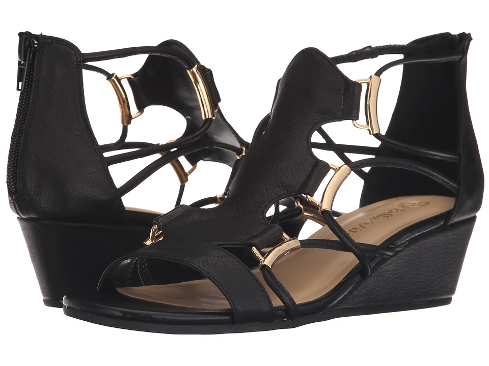 Bella-Vita - Isla (Black) Women's Sandals
