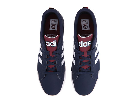 adidas - Daily 9TIS (Navy/White/Burgundy) Men