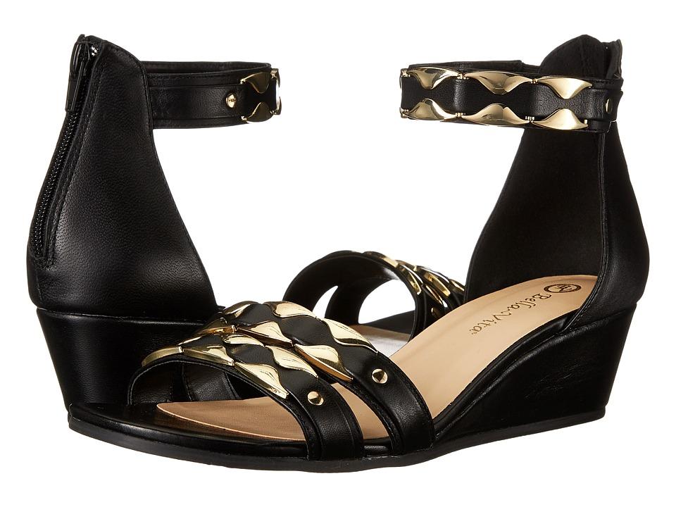 Bella-Vita - Imogen (Black) Women's Sandals