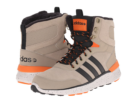 adidas - Lite Racer Hi (Cark/Black/Orange) Men