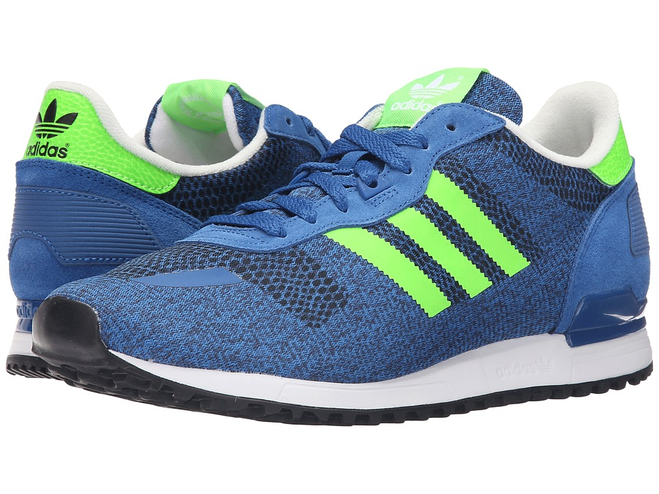 adidas Originals - ZX 700 IM (EQT Blue/Solar Green/Off-White) Men's Running Shoes