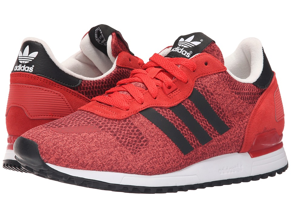 adidas Originals - ZX 700 IM (Lush Red/Black/Off-White) Men's Running Shoes