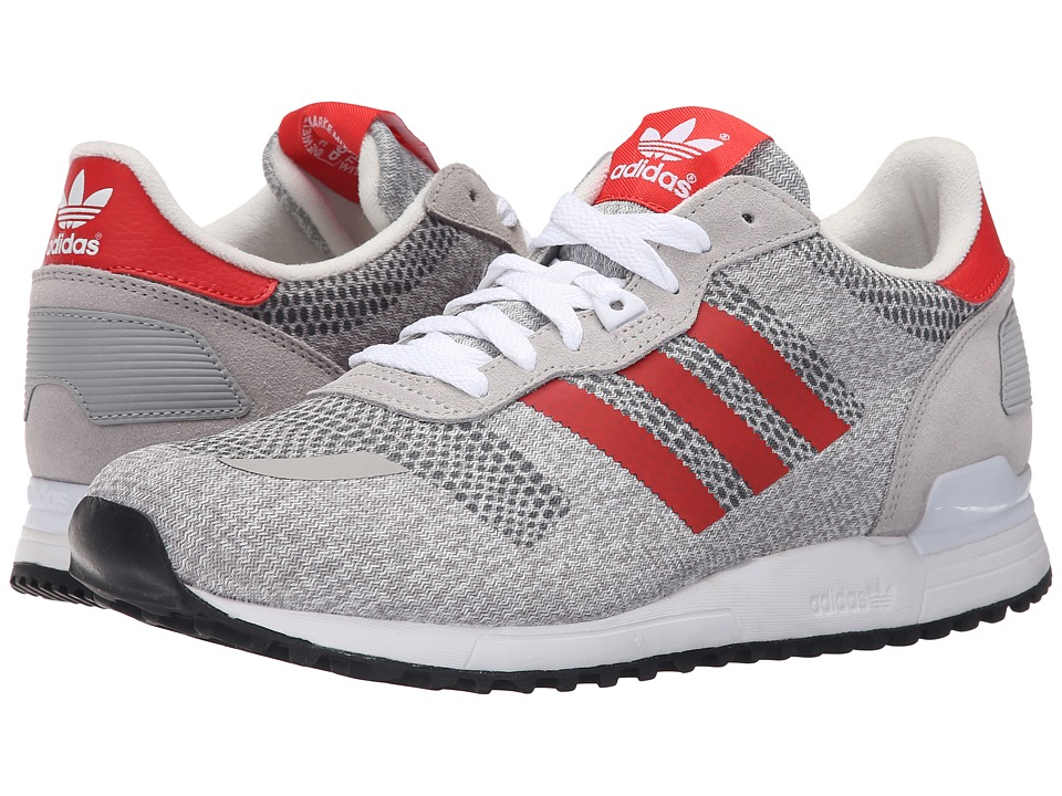 adidas Originals - ZX 700 IM (White/Red/Black) Men's Running Shoes