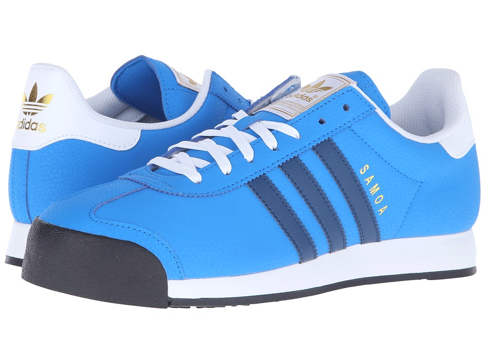 adidas Originals - Samoa (Shock Blue/Shadow Blue/Gold Metallic) Men's Classic Shoes