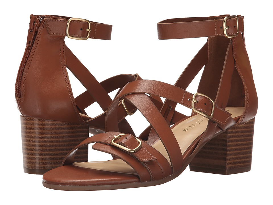 Bella-Vita - Fira (Dark Tan) Women's Sandals