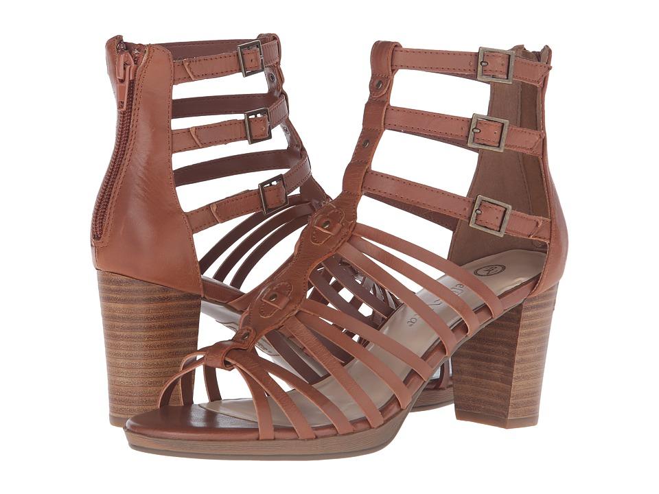 Bella-Vita - Layne (Dark Tan) Women's 1-2 inch heel Shoes