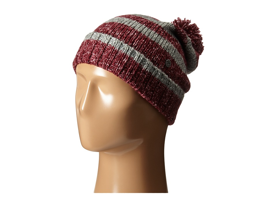 Roxy - Below Zero Knit Beanie (Burgundy) Beanies
