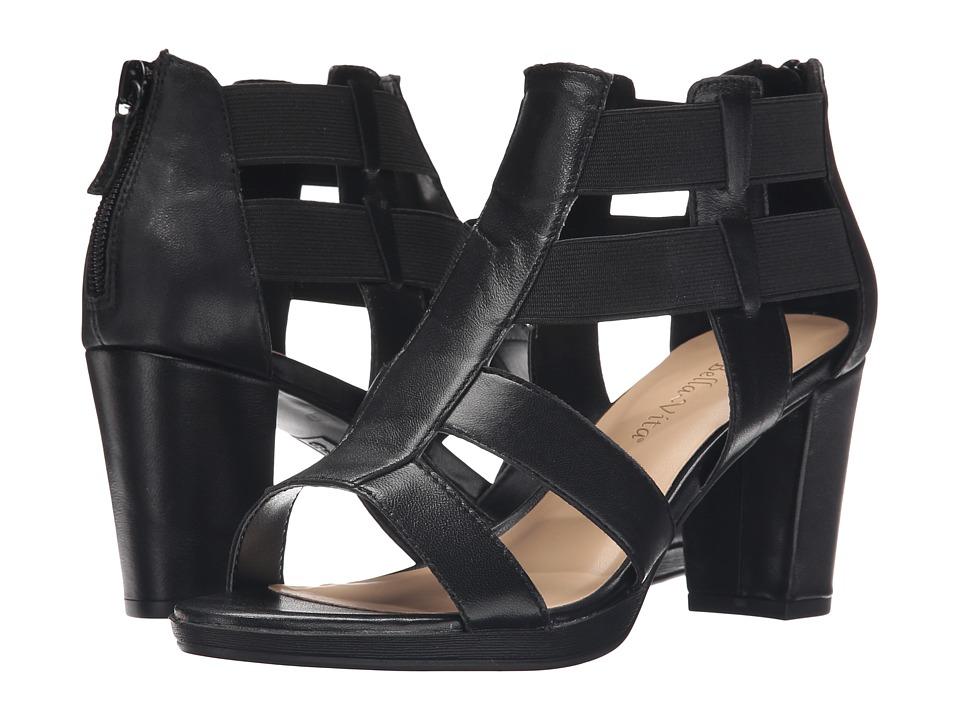 Bella-Vita - Lincoln (Black) Women's 1-2 inch heel Shoes