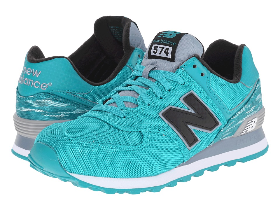 New Balance Classics - ML574 (Teal/White) Men's Shoes