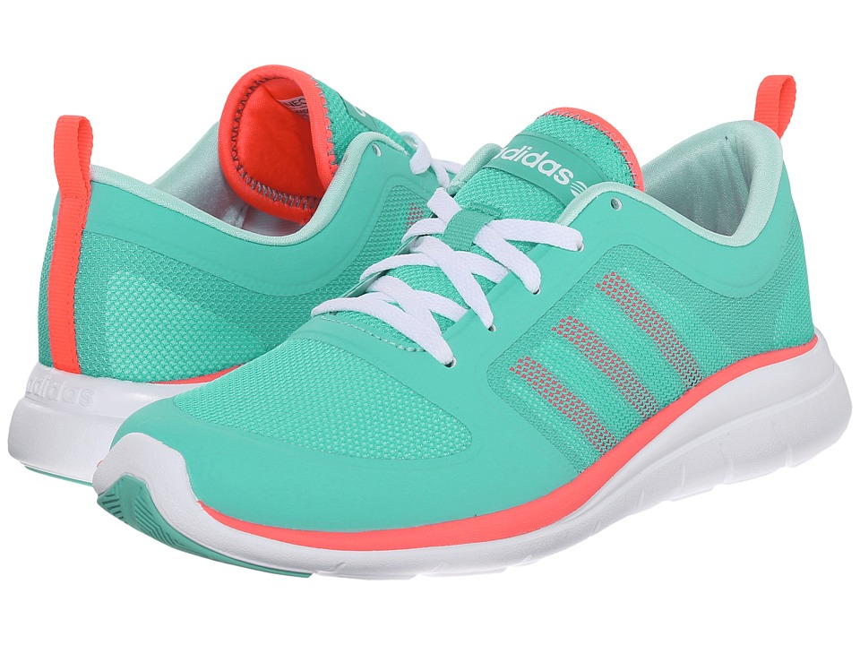 adidas - X Lite TM (Vivid Mint/Flash Red/Aqua) Women