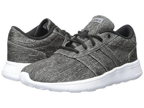 adidas - Lite Racer (Grey/Black/White) Women's Shoes