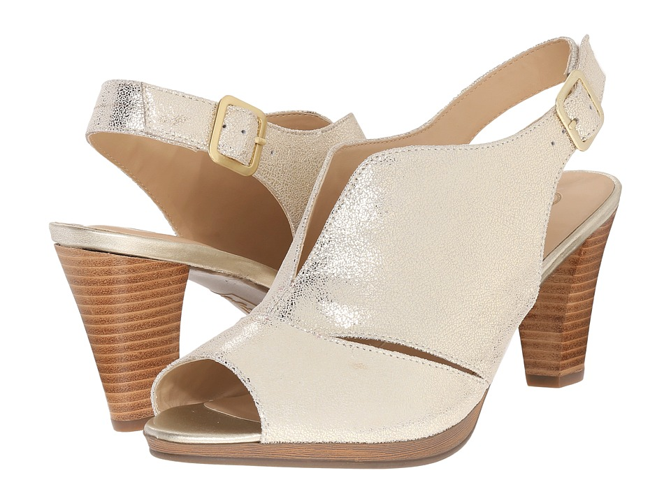 Bella-Vita Leona (Cracked Gold) High Heels