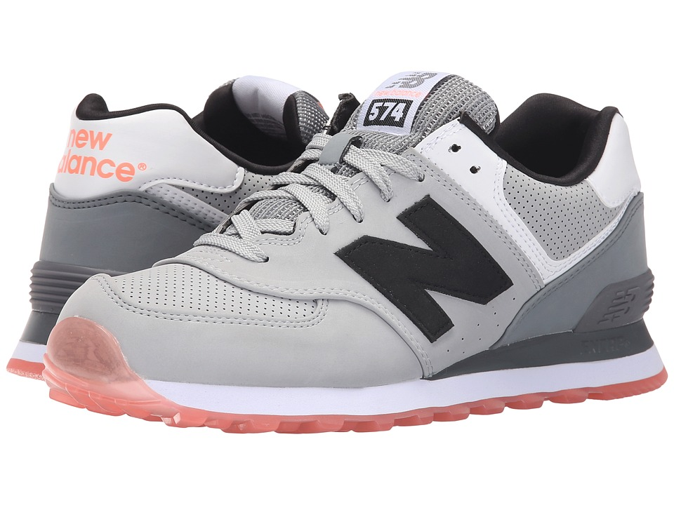 New Balance Classics - ML574 (Grey/Black 2) Men's Shoes