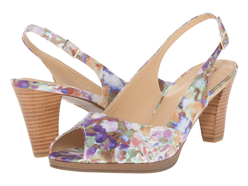Bella-Vita - Liset (Pastel Floral) Women's Sandals